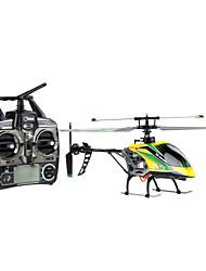 Недорогие -Вертолет WLtoys V912 10.2 CM 2.4G Коллекторный электромотор Готов к использованию