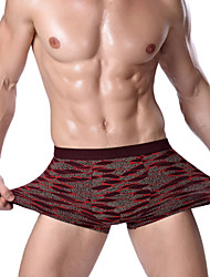 cheap -Men's Cotton / Polyester Boxer Briefs Underwear