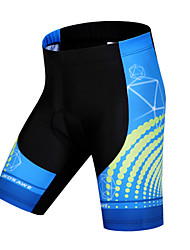 cheap -WOSAWE Unisex Cycling Padded Shorts Bike Shorts / Padded Shorts / Chamois / Bottoms 3D Pad, Quick Dry, Anatomic Design Polyester,