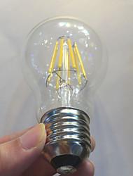 baratos -E26/E27 Lâmpadas de Filamento de LED A60(A19) 8 leds COB Impermeável Regulável Decorativa Branco Quente 750lm 2700K AC 220-240V