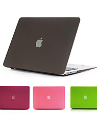 "cheap -Case for Macbook Air 11.6""/13.3"" Solid Color ABS Material Newest Quicksand Matte Hard Full Body Case Cover"