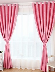 cheap -Grommet Top One Panel Curtain Country Geometic Living Room Polyester Material Blackout Curtains Drapes Home Decoration