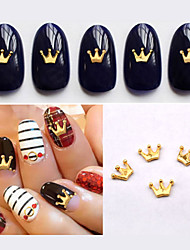 economico -50pcs Crown Nail Decorations-Altre decorazioni-Adorabile-Dito / Dito del piede- diAltro-4.5mm*6mm