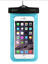 Недорогие -Сухие боксы Водонепроницаемые сумки Сотовый телефон Защита от влаги Подводное плавание и снорклинг PVCЖелтый Зеленый Синий Фиолетовый