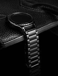 preiswerte -Uhrenarmband für Gear S2 Classic Samsung Galaxy Klassische Schnalle Edelstahl Handschlaufe