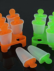 povoljno -6 stanica smrznutog sladoleda pop moulds popsicle maker lolly kalup ladica pan kuhinja diy