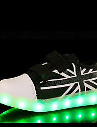 cheap -LED Light Up Shoes,Kid Boy Girl Unisex Upgraded USB Charging 7 Colors Breathable Canvas Sport Shoes Flashing Sneakers Luminous