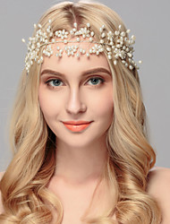 cheap -Pearl Headbands Headpiece Wedding Party Elegant Feminine Style