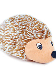 cheap -Cat Toy Dog Toy Pet Toys Plush Toy Squeak / Squeaking Hedgehog Hedgehog Textile For Pets