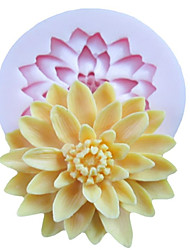Mold Flower For Cake For Cookie For Pie Silicone Eco-Friendly High Quality DIY