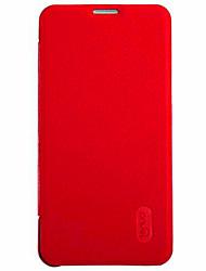 levne -Carcasă Pro Samsung Galaxy Samsung Galaxy pouzdro Pouzdro na karty / Flip Celý kryt Jednobarevné PU kůže pro A5(2016)
