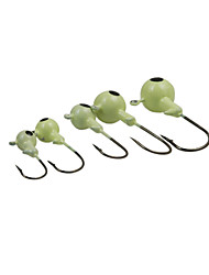 cheap -Fishing Accessories Fishing - 10 pcs - Easy to Use Metal - Spinning Freshwater Fishing General Fishing Lure Fishing Bass Fishing