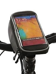 ROSWHEEL Bolsa para Manillar Bolso del teléfono celular 4.2 pulgada Impermeable Secado rápido Resistente a la lluvia Pantalla táctil