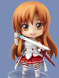 cheap -Sword Art Online Asuna Yuuki Change Picture 9.5CM POP Doll Anime Action Figures Model Toy