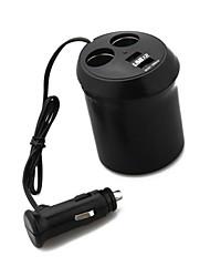 accendisigari Caricabatteria Multiprese 2 Uscite 2 USB