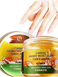 Byfunme Milk Honey  Exfoliating Moisturizing hand Wax Cosmetic Beauty Care Makeup for Face
