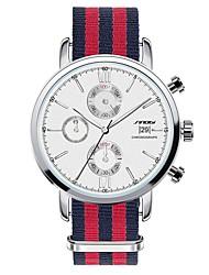 SINOBI® Men's Watch Leather Wrist Watches Quartz Calendar Water Resistant/Water Proof Watch Wristband  Male Famous Brands Cool Watch Unique Watch