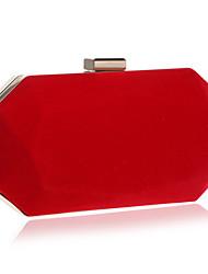 economico -Donna Sacchetti Poliestere Borsa da sera per Matrimonio Serata/evento Casual Formale Per tutte le stagioni Nero Viola Rosso Blu