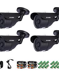 zosi® 1/3 inch 1000tvl cmos ir appareil photo caméra de surveillance ip caméra pour la sécurité à la maison