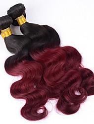cheap -Brazilian Hair Classic Body Wave Human Hair Weaves 3pcs High Quality Natural Color Hair Weaves Daily