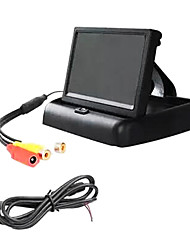 5 Inch TFT-LCD Car Rearview Fold Monitor.