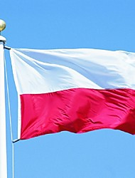 90x150cm polonia bandiera nazionale grande polonia bandiera miglior prezzo all'aperto smalto (senza pennone)