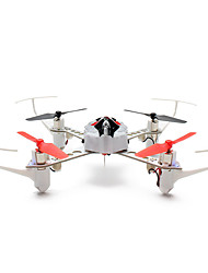 XK X100 With 3D 6G Mode Inverted Flight 2.4G 4CH 6 Axle LED RC Quadcopter mode2  RTF