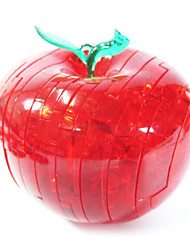 billige -Byggeklodser 3D-puslespil Puslespil Krystalpuslespil Apple GDS Krystal ABS Jul Gave
