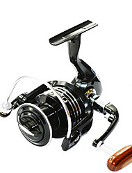 cheap -Fishing Reel Spinning Reel 4.7:1 Gear Ratio+13 Ball Bearings Hand Orientation Exchangable Left-handed Right-handed Sea Fishing Bait
