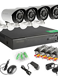 4 Channel 960H Real Time (960*576) 4 720p Camera  Surveillance System Security System Home Safety