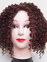 cheap -Europe And The United States Black Brown Curls Hair Wig