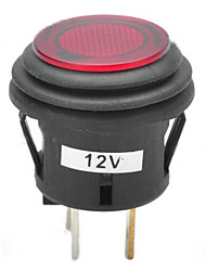 cheap -Jtron 12V 20A Car Push Button Latching Switch with Red/Blue LED Indicator