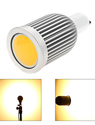 cheap -GU10 LED Spotlight MR16 1 COB 850lm Warm White Cold White 3000-3500K,6000-6500K Dimmable AC 220-240 AC 110-130V