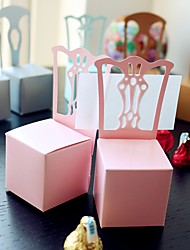 cheap -Creative Card Paper Favor Holder With Favor Boxes-12 Wedding Favors