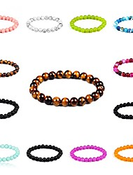 Men's Women's Strand Bracelet Fashion Costume Jewelry Crystal Circle Jewelry For Daily Casual Christmas Gifts
