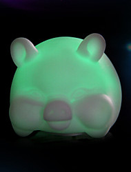 cheap -Creative Color-Changing Colorful Pig LED Nightlight