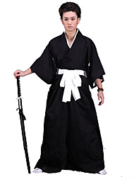 Inspired by Cosplay Cosplay Anime Cosplay Costumes Cosplay Suits Kimono Solid Underwear Belt Kimono Coat Hakama pants For Male Female