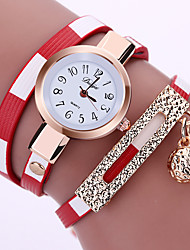 cheap -Women's Bracelet Watch Fashion Watch Quartz Hot Sale Alloy Band Sparkle Black Blue Red Brown Pink