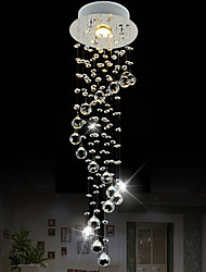 LightMyself 35W Modern/Contemporary Crystal / Mini Style Chrome Crystal Pendant Lights Living Room / Dining Room