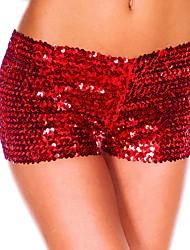 economico -Pantaloni Da donna Pantaloncini Sexy / Vintage / Serata Nylon Elasticizzato