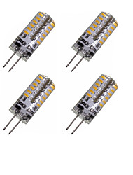 2W G4 LED Corn Lights MR11 48 SMD 3014 150-200 lm Warm White Cold White 3000-3500 6000-6500 K Decorative DC 12 AC 220-240 AC 12 V