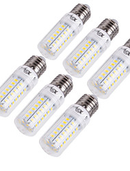 cheap -YouOKLight 6pcs 15 W 1350 lm E14 / E26 / E27 LED Corn Lights T 56 LED Beads SMD 5730 Decorative Warm White / Cold White 220-240 V / 110-130 V / 6 pcs / RoHS