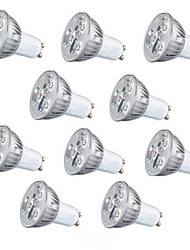 cheap -GU10 GU5.3(MR16) E26/E27 LED Spotlight MR16 3 High Power LED 260 lm Warm White Cold White 3000 6500 K AC220 V