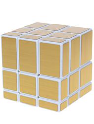 abordables -Cubo de rubik Alienígena Cubo de espejo Cubo velocidad suave Cubos Mágicos rompecabezas del cubo Nivel profesional Velocidad Espejo
