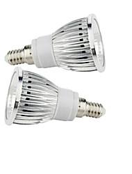 2.5W E14 Spot LED 1 diodes électroluminescentes COB Blanc Chaud Blanc Froid 200-250lm 2800-3500/6000-6500K AC 85-265V