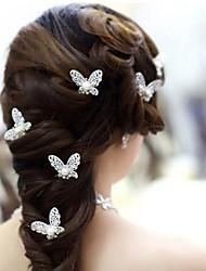 abordables -imitación perla aleación cabello pinza casco estilo femenino clásico