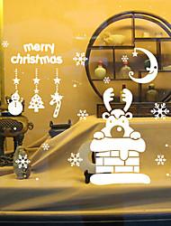 preiswerte -Tiere / Weihnachten / Romantik / Feiertage Wand-Sticker Flugzeug-Wand Sticker,vinyl 42*47.3cm