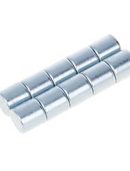 Brinquedos Magnéticos Blocos de Construir Ímã de Terras Raras Super Forte 10 Peças 3mm Brinquedos Imã Magnética Forma Cilindrica Dom