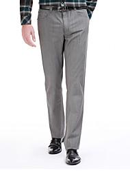 sete Brand® Masculino Terno Calças Cinzento-799S800794