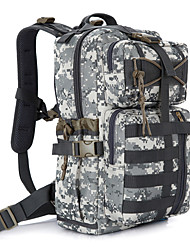 cheap -30 L Hiking & Backpacking Pack Backpack Camouflage Military Tactical Hunting Fishing Climbing Cycling/Bike Camping & Hiking Traveling Quick Dry